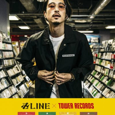 卍LINE×TOWER RECORDS WEARTHEMUSIC